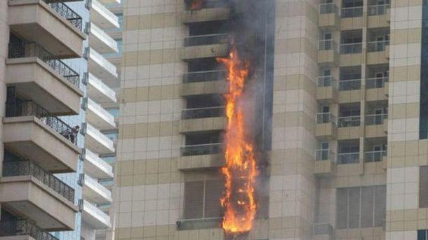 Пожежа в Дубаї
