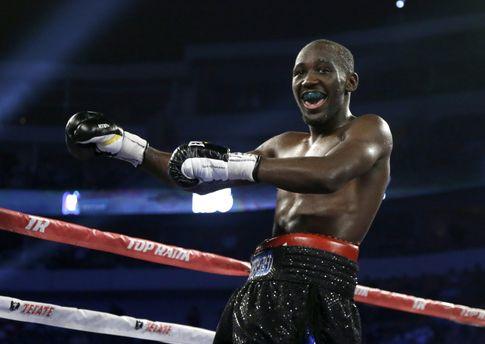 Чемпион мира в первом полусреднем весе по версии WBO Теренс Кроуфорд