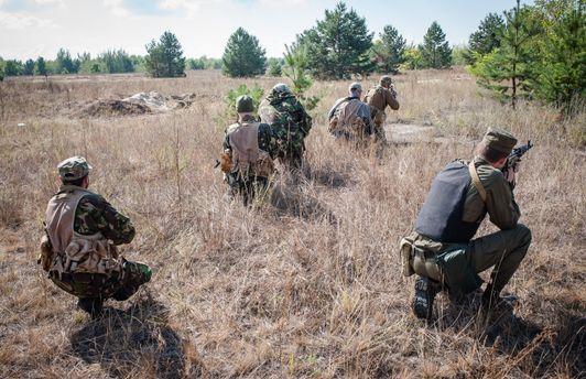 Учения украинских военных