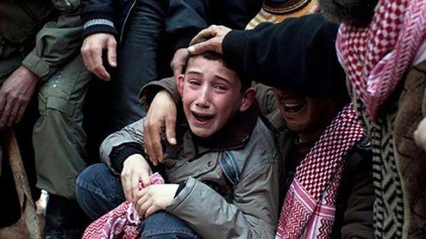 Россия атаковала жилые районы Сирии