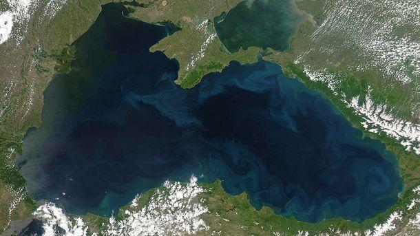 Чорне море з космосу