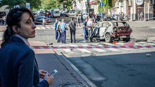 Правоохоронці розслідують вбивство Павла Шеремета