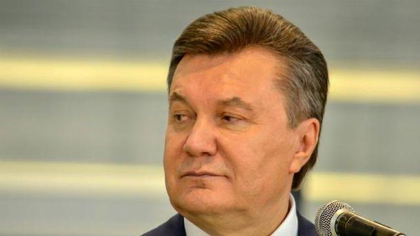 Янукович напомнил о себе