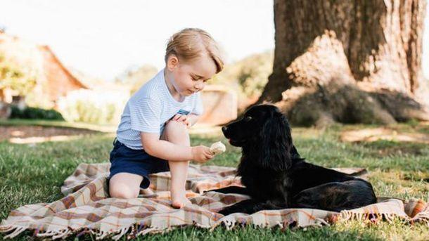 Принцу Джорджу 3 роки