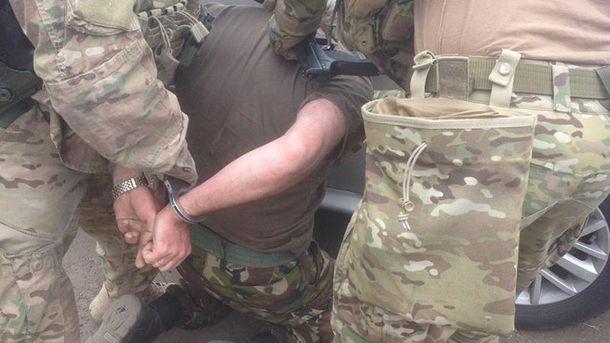 У Зоні АТО затримали високопоставленого військового