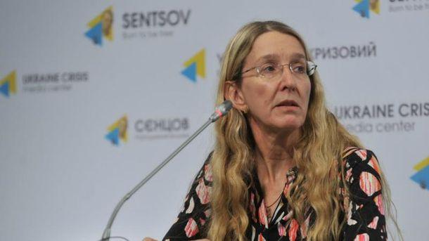 Уляна Супрун стала заступником міністра охорони здоров'я