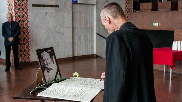 У Києві попрощались з Павлом Шереметом