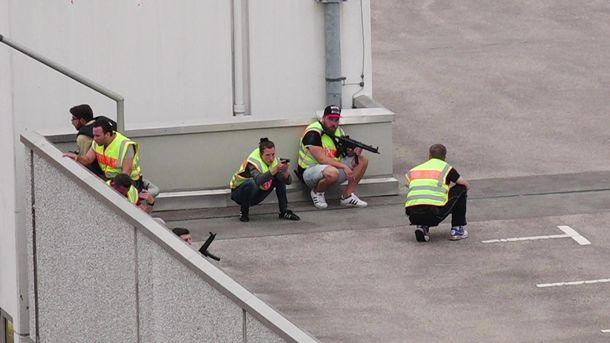 Полиция Мюнхена проводит спецоперацию