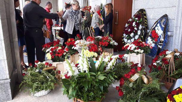В Беларуси прощаются с Павлом Шереметом