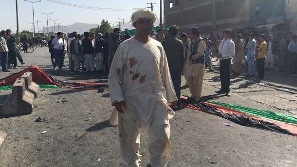 Теракт в Кабулі забрав життя 61 людини