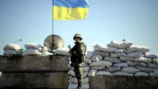 Украинский военный