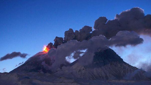 Вулкан Ключевська сопка