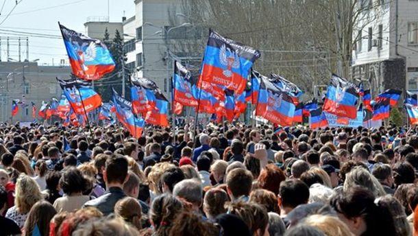 На оккупированных территориях Донбасса