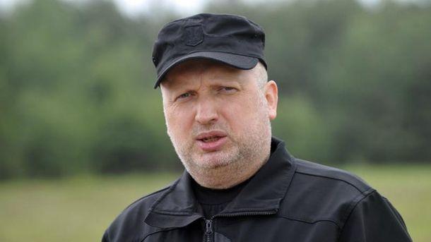 Александр Турчинов рассказал о новых видах вооружения россиян на Донбассе