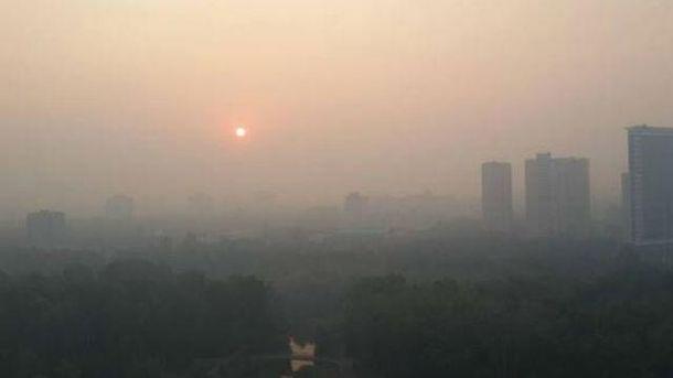 Загрязнение воздуха превышает норму еще с 5 июля