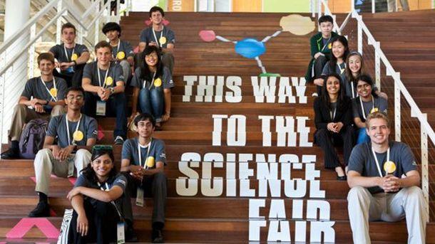 Участники Google Science Fair