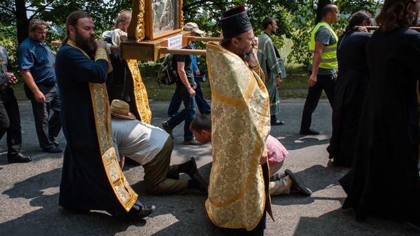 Все за традиціями московського патріархату