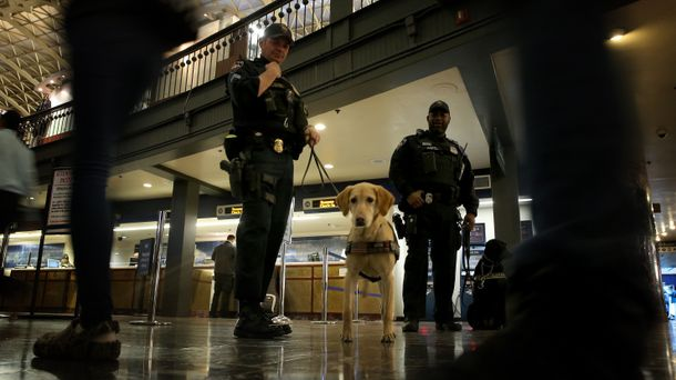 Угроза террористической атаки на Центральном вокзале Вашингтона