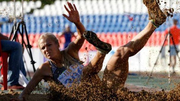 Російські легкоатлети