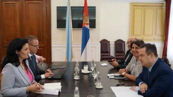 Об антироссийских санкциях в Сербии не вспоминали