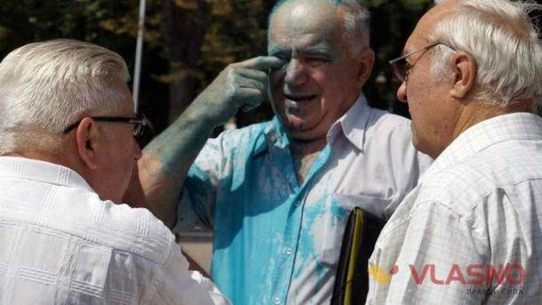 Прихильникам Росії перепало у Вінниці