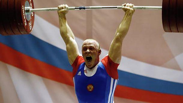 Російських важкоатлетів відсторонили від Олімпіади