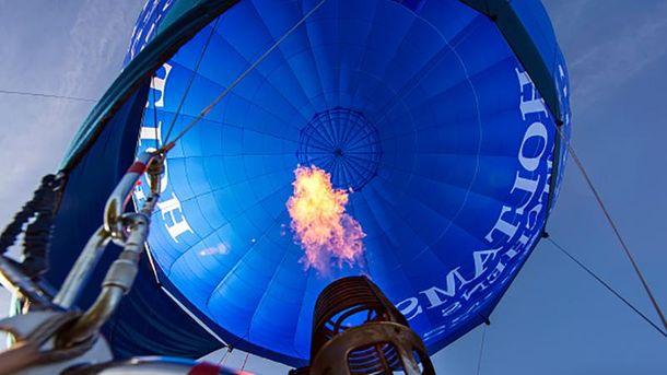 На борту шара находились 16 человек