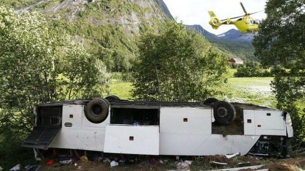 ДТП з українцями у Норвегії