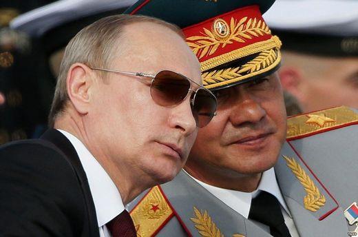 Володимир Путін і Сергій Шойгу