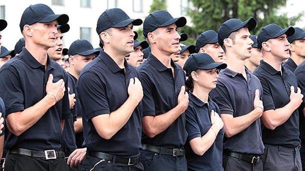 Українські поліцейські