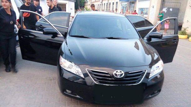 Молодики на Toyota Camry влаштували стрілянину