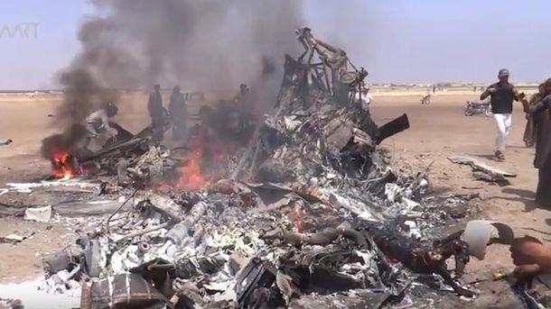 Сбитый в Сирии Ми-8