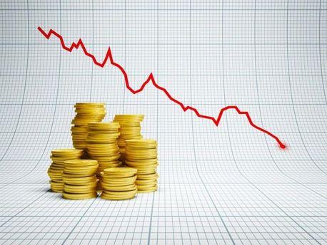 Падение экономики