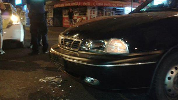 Пасажир Daewoo Nexia зазнав серйозного пошкодження
