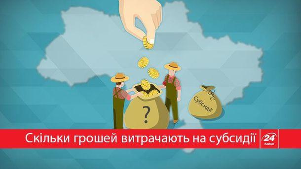 Сколько денег государство тратит на субсидии за
