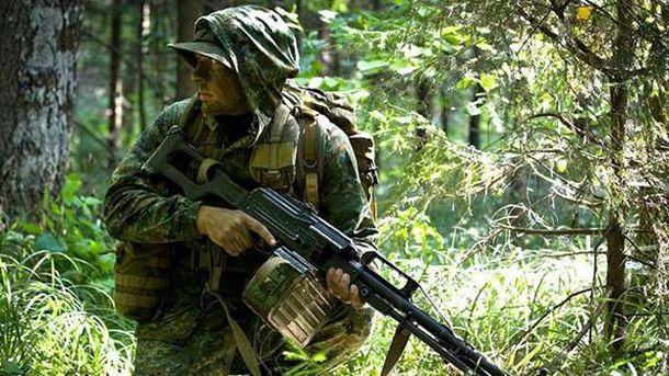 Российские военные были обстреляны неизвестными