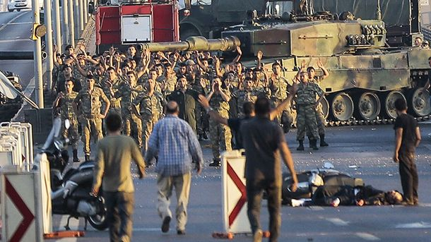 Переворот у Туреччині