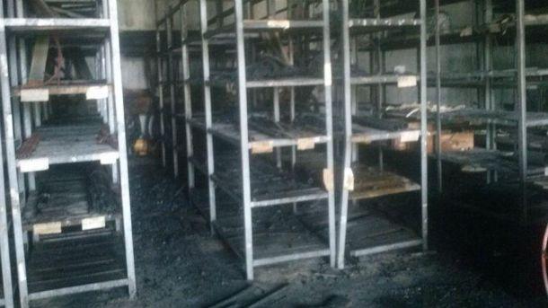 Пожар тушили больше часа