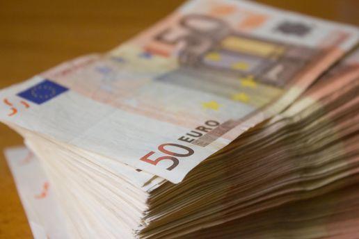Вартість долара та євро змінились на 1 копійку
