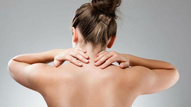 Вправи проти болю в шиї