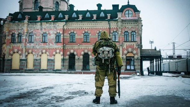 Вокзал в Дебальцево теперь в руках оккупантов
