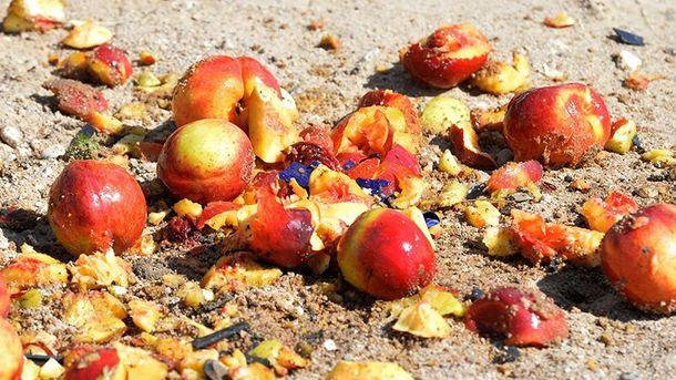 У Росії чавили санкційні персики