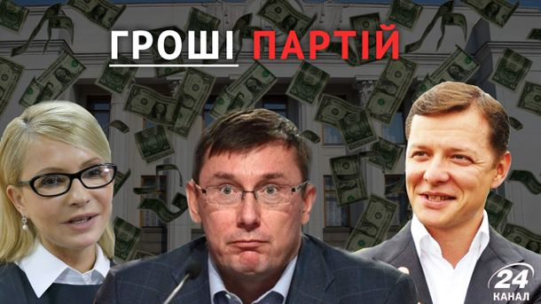 Гроші партій