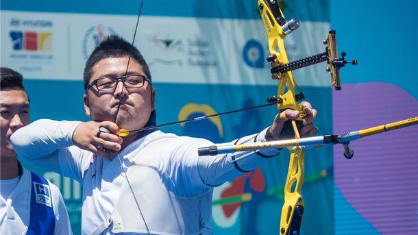 Олимпийский рекордсмен Ким У Джин