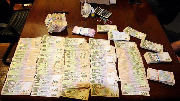 Деньги, которые нашли во время обысков