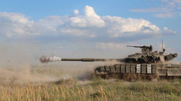 Военные соревнования на танках