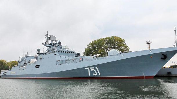 Российский корабль