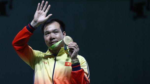 Хоанг Суан Винь получил первое