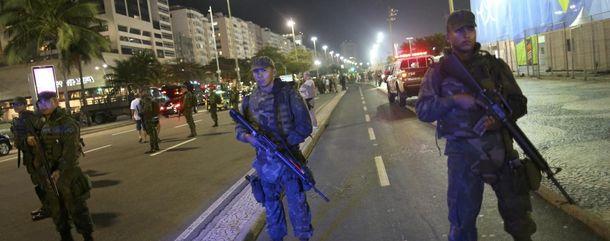 Правоохранители в Рио