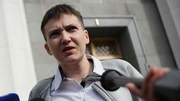 Савченко остается с матерями пленных